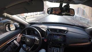 Honda CRV — новая тачка на тест-драйв!