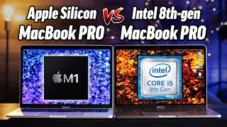 M1 MacBook PRO vs Intel MacBook PRO: ULTIMATE Comparison