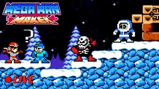 We Play Your Mega Man Maker Levels Live #59
