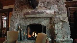 $12 MILLION LOG HOME MANSION FOR SALE - Vail Colorado Real Estate Video Tour