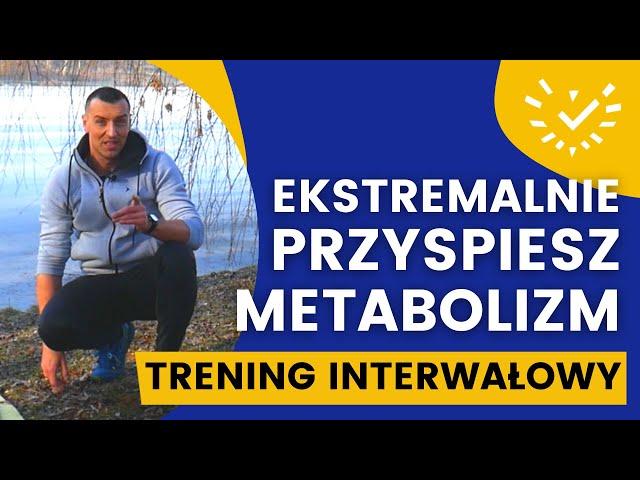 Odchudzający Trening Interwałowy TABATA w domu, bez sprzętu. Szybkie Spalanie Tkanki Tłuszczowej