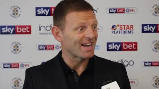 Graeme Jones' first interview as Luton Town manager