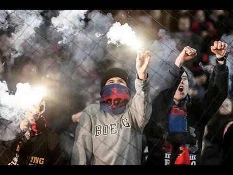 Фанаты ЦСКА устроили беспорядки в Будапеште