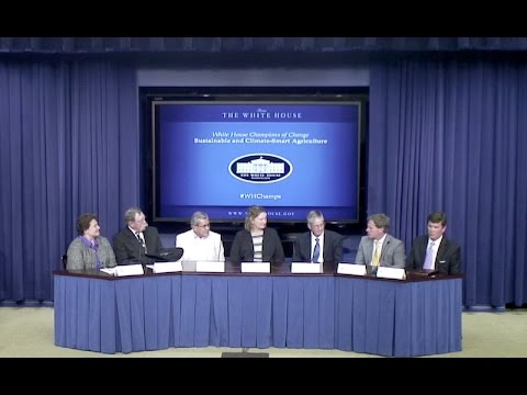 White House Champions of Change – Sustainable and Climate-Smart Agriculture