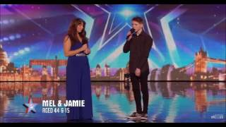 Mel and Jamie bring their special bond to BGT / Auditions Week 7 / Britain's Got Talent 2016
