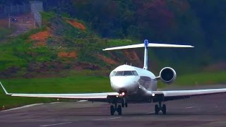 Awesome Take Off by Garuda Indonesia Airlines CRJ1000er (Video Pesawat Terbang Indonesia)