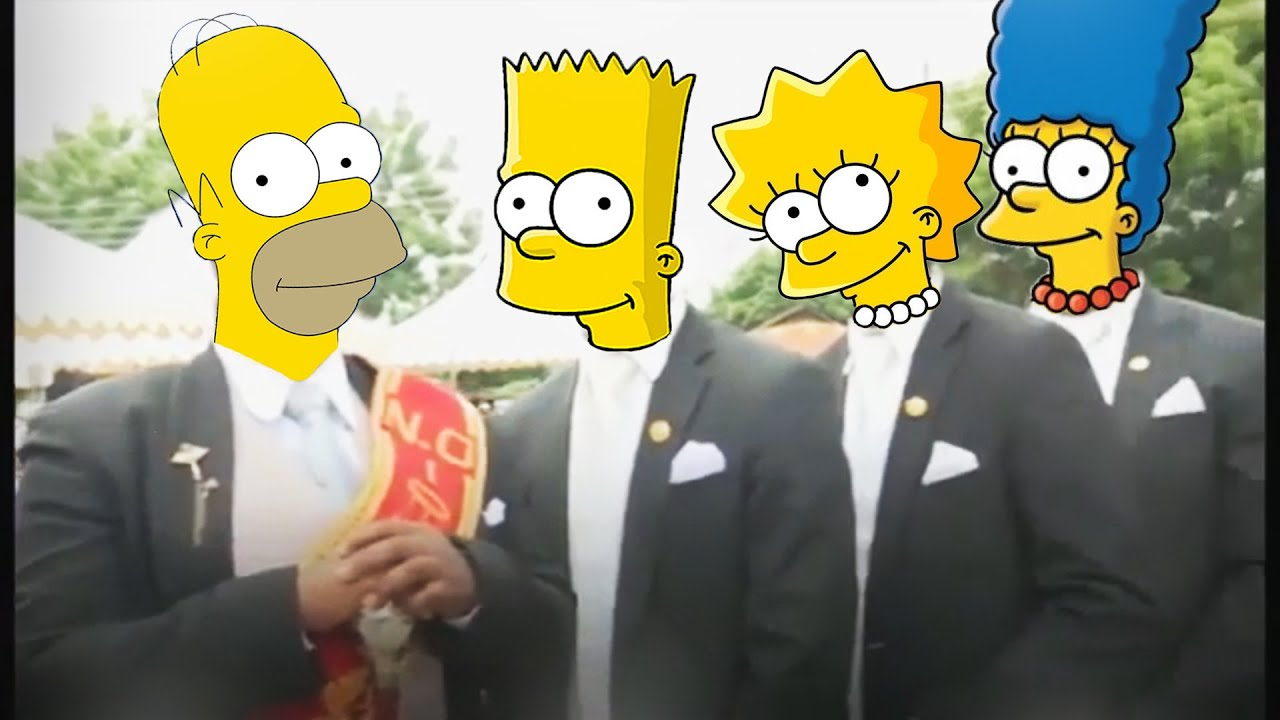 Astronomia - Coffin Dance Meme 20 - Simpsons
