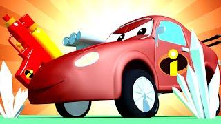 Автомойка Эвакуатора Тома - Спецвыпуск Суперсемейка - Малыш Джерри хочет быть как Фреон - мультфильм