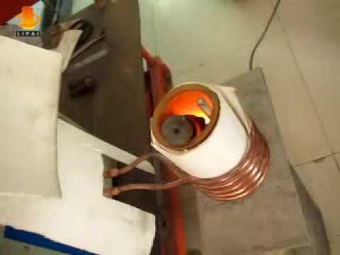 melting iron  induction metal smelting furnace