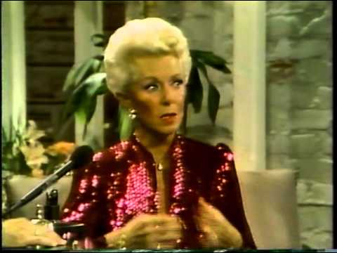 Lana Turner, Alan Thicke, 1984 TV Interview