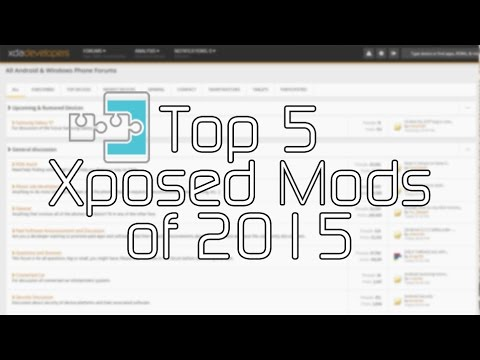 Top 5 Xposed Mods of 2015