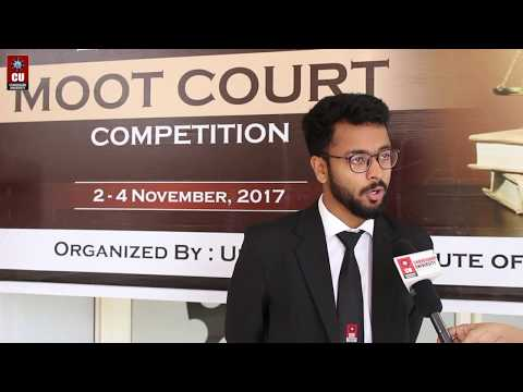 2nd National Moot Court Competition | Chandigarh University