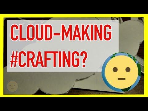Easy Handmade DIY Foam Core Board Cloud Paper Craft Project Idea for Kids Teen Time Lapse | MySuLonE
