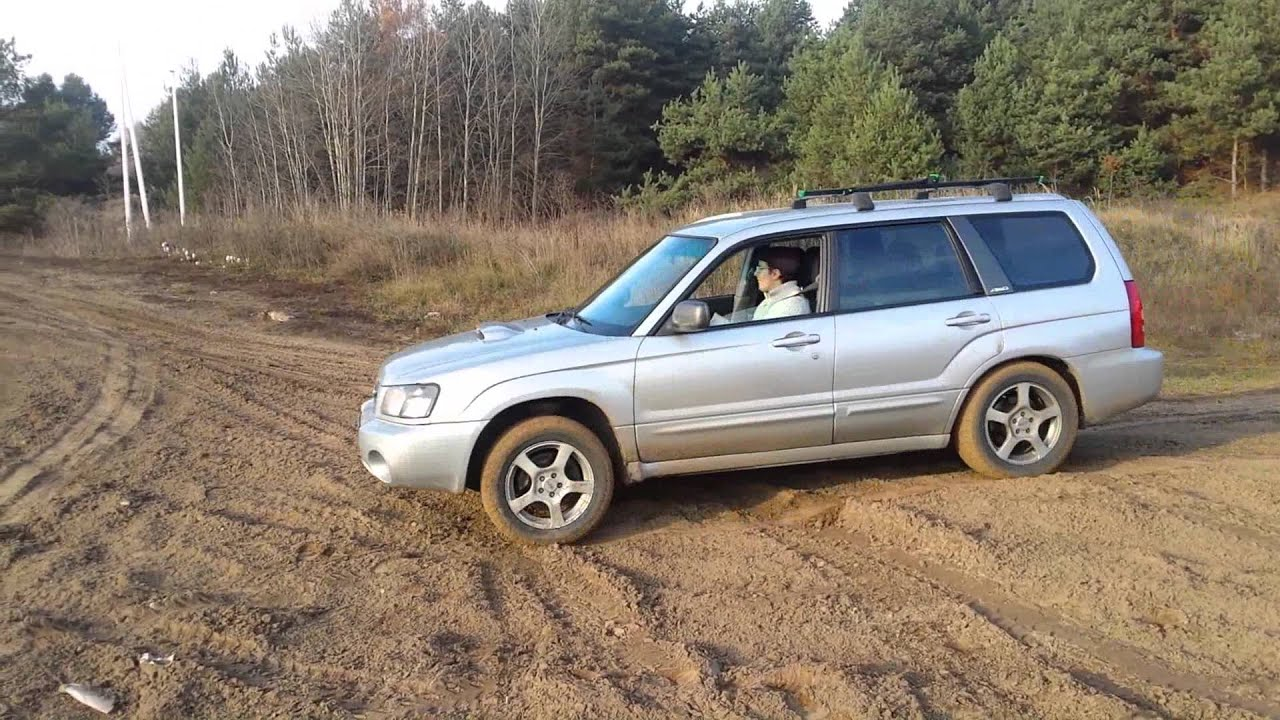 Forester 2 5 XT offroad test