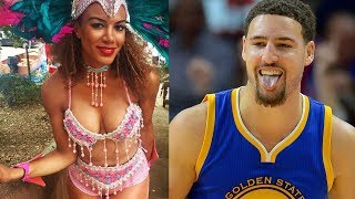 Klay Thompson HOOKING UP with NBA on TNT Reporter!?