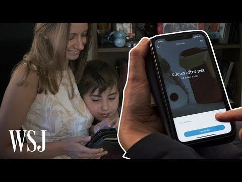 App Rewards Kids For Chores, Teaches Value Of Money | WSJ
