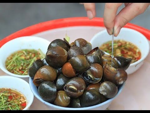 vietnam street food - boiled snail,Cooking Snail In Family, Different Ways Of Cooking Snail