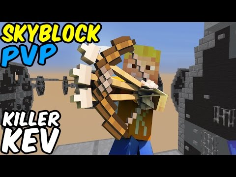 KILLER KEV - 1 vs 1 STARWARS ★ SKY BLOCK PVP ★ Skyblock / Skywars Server | Minecraft PvP LPmitKev