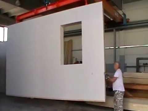 carico pareti case prefabbricate youtube