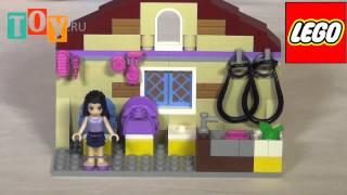 Конструктор Лего Подружки (Lego Friends) Школа верховой езды 3185(Проведи лето в Школе верховой езды LEGO Friends! Отправляйся в лагерь с Эммой, Стефани и их подружкой Эллой в мини-..., 2014-05-26T14:40:14.000Z)