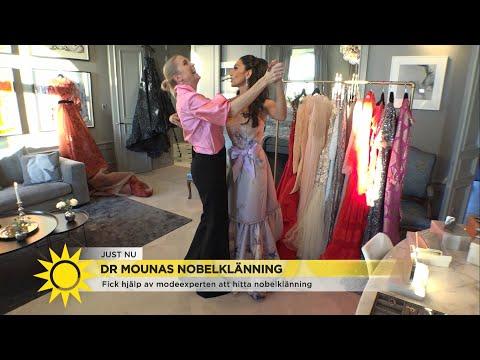 08321d584db9 Doktor Mouna väljer klänning till Nobelfesten: