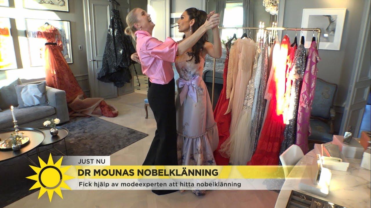 ad048b177c6c Doktor Mouna väljer klänning till Nobelfesten: