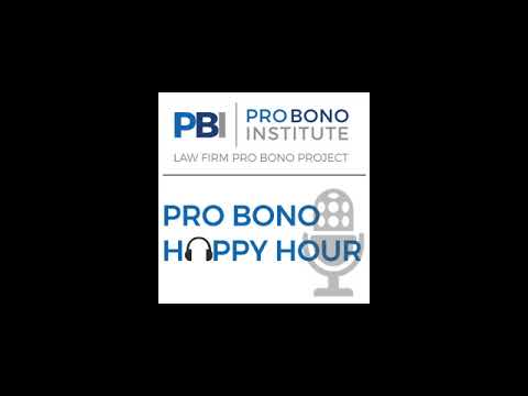 Pro Bono Happy Hour - Karen Grisez, Fried, Frank, Harris, Shriver & Jacobson