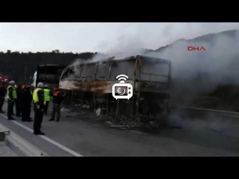 Çorum'da yolcu otobüsü, TIR'a çarptı: 13 ölü, 18 yaralı