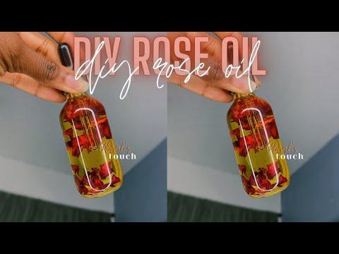 ENTREPRENEUR LIFE 4: MAKING MY ROSE FACIAL OIL    DIY ROSE OIL FOR SKIN - YouTube