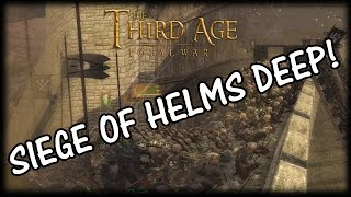 EPIC SIEGE - Battle of Helms Deep (Third Age Total War)
