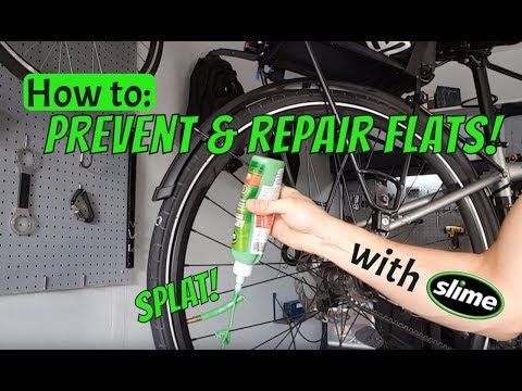 How to Prevent & Repair Bicycle Tube Flats with Slime Sealant