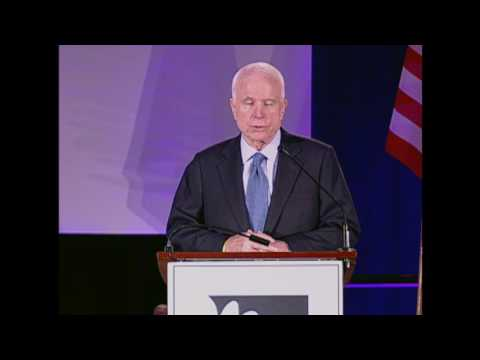 U.S. Senator John McCain: Upholding the Trust Responsibility to Tribal Nations