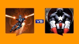 Jango Fett Vs Captain America