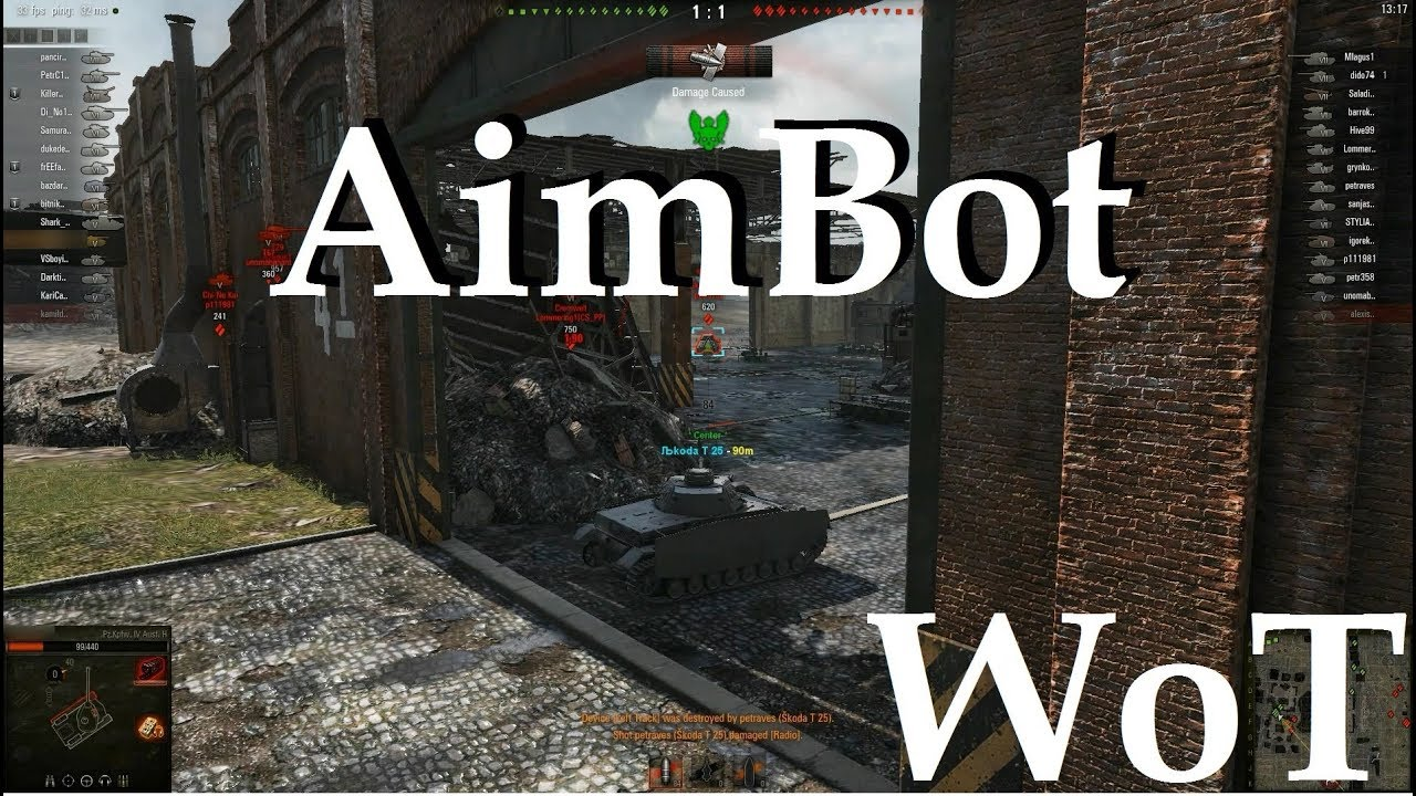Aimbot Shaitan sight for WoT