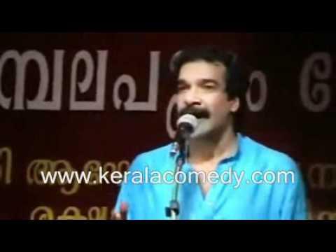 Jayaraj Warrier Comedy Show about Thrissur Slang