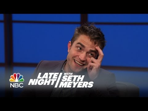 Download Youtube: Robert Pattinson Really Wants a Baby Brother - Late Night with Seth Meyers