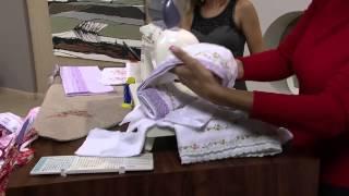 Cissa Mesquita – Costura fralda e kit bebê Parte 1