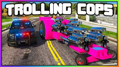 GTA 5 Roleplay - TROLLING COPS WITH 1000HP TRACTOR   RedlineRP