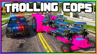GTA 5 Roleplay - TROLLING COPS WITH 1000HP TRACTOR | RedlineRP