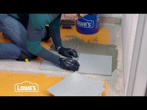 How To Tile A Bathroom Floor Youtube