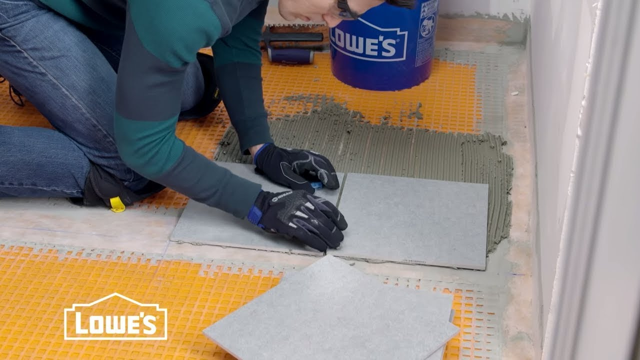 How To Tile A Bathroom Floor You