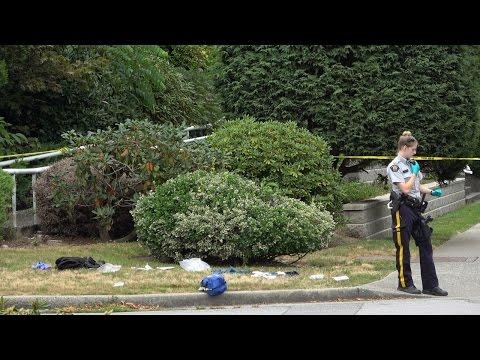 Fatal Stabbing Coquitlam Ave & Flint St. Port Coquitlam BC Canada 4K
