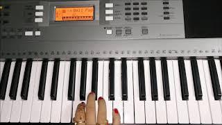 Piano Cover of Dil Todke Hasti Ho Mera | Sujata Instrumental