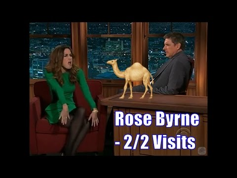 Rose Byrne  Makes Impression Of A Giraffe  22 Visits In Chronological Order LQHQ