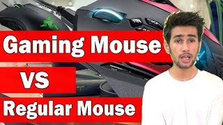 [HINDI] What's the Difference Between Gaming Mouse & Regular Mouse ( Which is Good ) ?