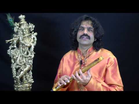 Intro by Flute Raman with Ragas Ananda Bhairavi & Hindolam - Flute Lesson CL84
