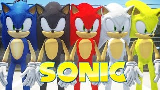 ALL SONIC FORMS IN GRAND THEFT AUTO thumbnail