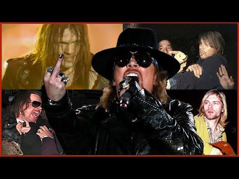 Top: 10 Peleas de Axl Rose con otros artistas