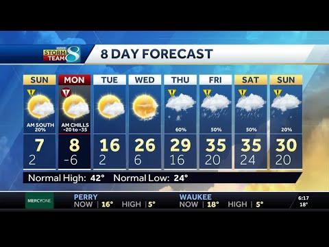 Videocast: Dangerous Wind Chills Return
