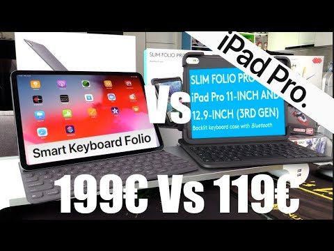 Clavier Ipad Pro 2019 Apple Smart Keyboard Folio Vs Logitech Slim Folio Pro, Branleur Vs Travailleur